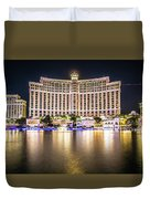 Bellagio Hotel On Nov, 2017 In Las Vegas, Nevada,usa. Bellagio I Duvet Cover