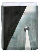 Berlin Tv Tower Duvet Cover by Falko Follert