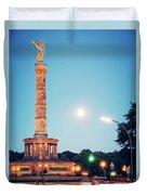 Berlin - Victory Column Duvet Cover