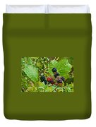 Berries In Vicente Perez Rosales National Park Near Puerto Montt-chile  Duvet Cover