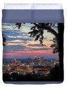 Birmingham Skyline Duvet Cover