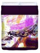 Black Butterflies Butterfly  Duvet Cover