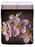 Blackberry Flowers Duvet Cover