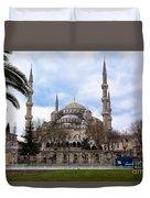 Blue Mosque-- Sultan Ahmed Mosque Duvet Cover