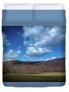 Blue Ridge Foothills Duvet Cover