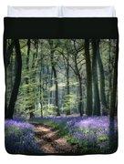 Bluebell Path Duvet Cover