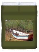 Boat And Anchor Duvet Cover