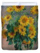 Bouquet Of Sunflowers Duvet Cover