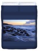 Bowling Ball Beach Duvet Cover