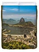 Brasil Rio De Janeiro Duvet Cover