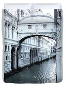 Bridge Of Sighs, Venice, Italy Duvet Cover