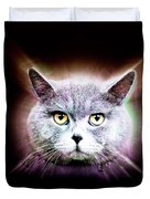British Shorthair Cat Duvet Cover
