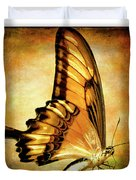 Broad Banded Swallowtail Duvet Cover