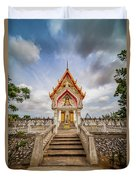 Buddhist Temple Duvet Cover by Adrian Evans