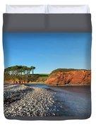 Budleigh Salterton - England Duvet Cover