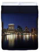 Buildings At The Waterfront, Inner Duvet Cover