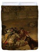 Bullfight - Suerte De Varas Duvet Cover