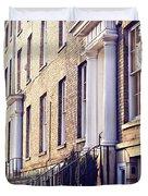Bury St Edmunds Buildings Duvet Cover