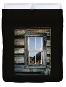 Cabin Window Duvet Cover