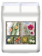 Cactus Collage Duvet Cover