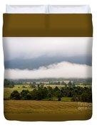 Cades Cove. Duvet Cover