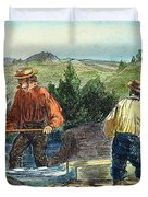 California Gold Rush Duvet Cover