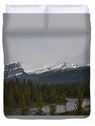 Canadian Rockies Duvet Cover