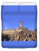 Castelgrande - Bellinzona Duvet Cover