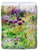 Castle Gardens Duvet Cover