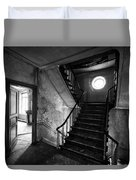 Castle Stairs - Abandoned Building Duvet Cover
