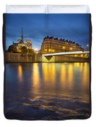 Cathedral Notre Dame - Paris Duvet Cover