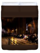 Cathedrale Notre Dame De Paris Duvet Cover