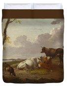 Cattle Duvet Cover