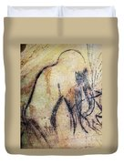 Cave Art: Mammoth Duvet Cover