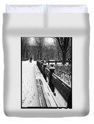 Central Park 8 Duvet Cover by Wayne Gill