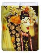 Ceremonial Mask Duvet Cover
