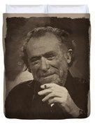 Charles Bukowski 2 Duvet Cover