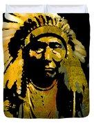 Chief Joseph Duvet Cover