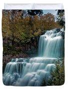 Chittanengo Falls Duvet Cover