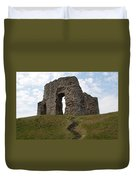 Christchurch Castle Duvet Cover