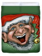 Christmas Elf Duvet Cover