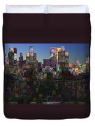 City Sunrise  Duvet Cover