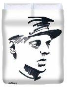 Civil War Soldier Duvet Cover