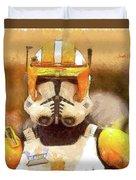 Clone Trooper Commander Duvet Cover