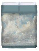 Cloud Study Duvet Cover