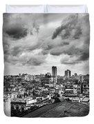 Clouds Over Havana Duvet Cover