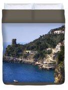 Furore - Coast Of Amalfi Duvet Cover