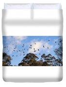 Cockatoos - Canberra - Australia Duvet Cover