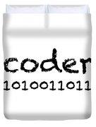 Coder Duvet Cover