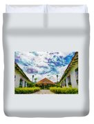 Colonial House Duvet Cover